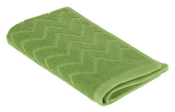 Kéztörlő Peter - Zöld, Textil (30/50cm) - Mömax modern living