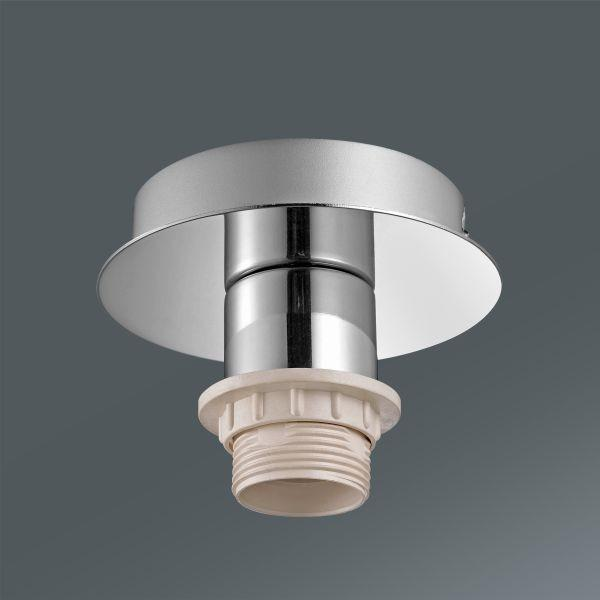 Mennyezeti Lámpa Lara - ezüst színű, fém (16/18cm) - MÖMAX modern living