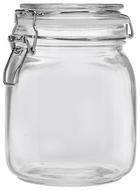 Einmachglas Nele aus Glas - Klar, Glas/Metall (11/14,5cm) - Mömax modern living