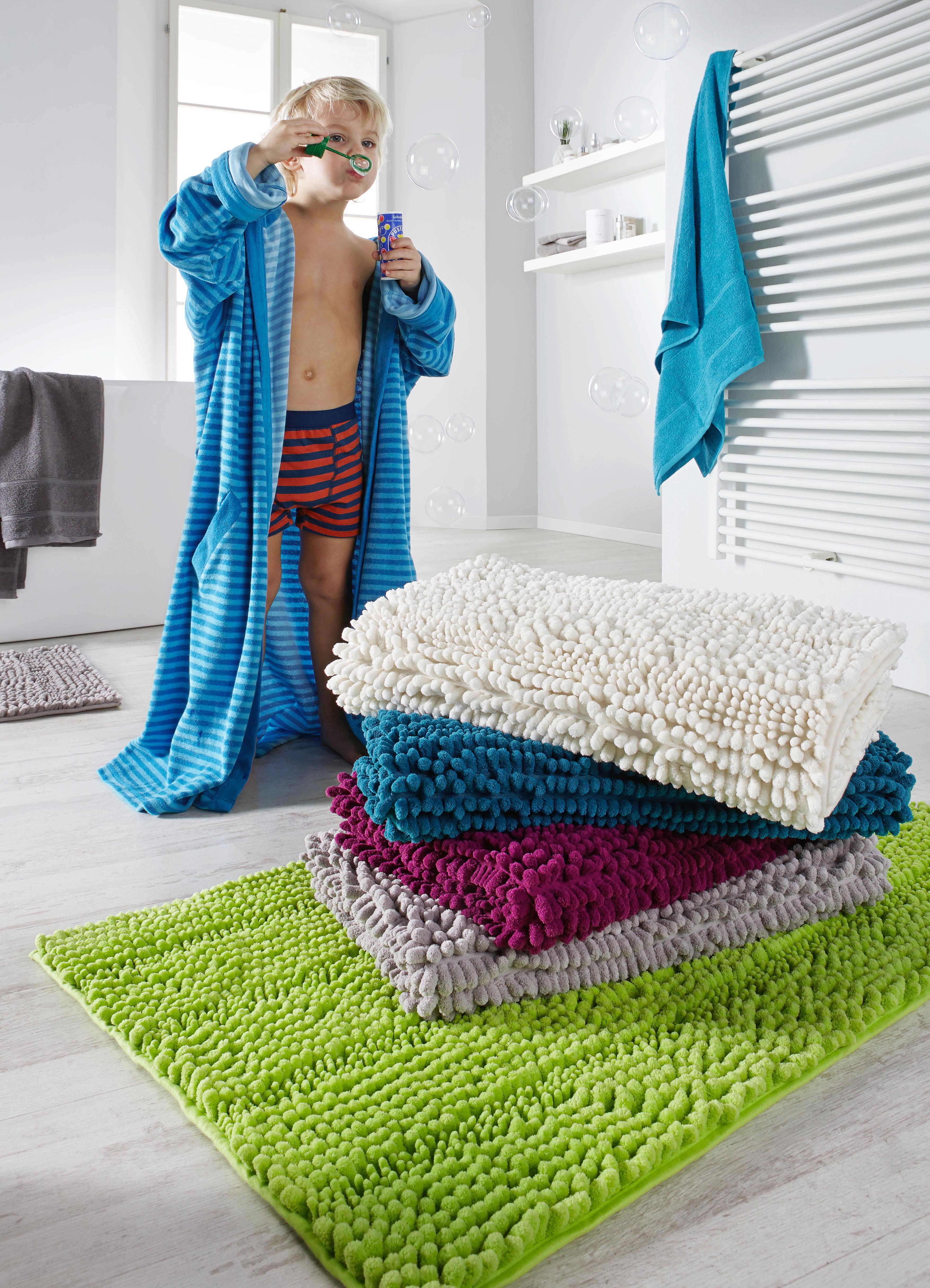 Badematte Uwe ca. 60x100cm - Grün, Textil (60/100cm) - MÖMAX modern living