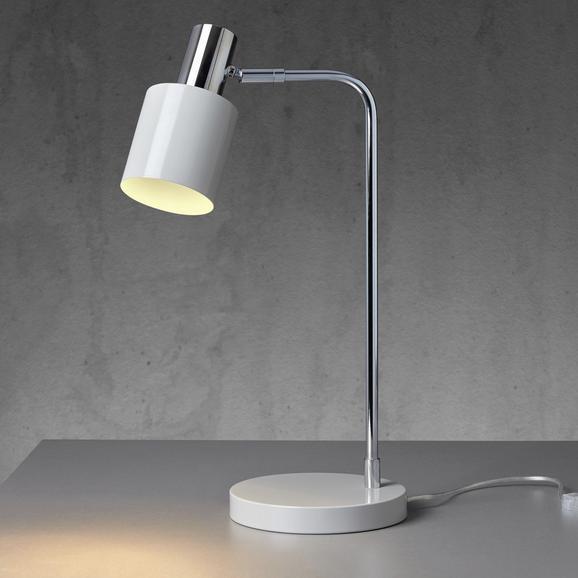 Tischleuchte Illya - Grau, MODERN, Metall (22/1,8/49cm) - MÖMAX modern living