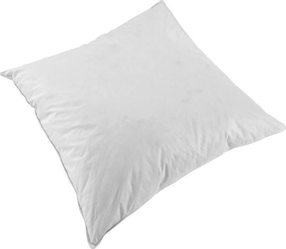 Kopfkissen Flo in Weiß ca. 80x80cm - Weiß, Textil (80/80cm) - Mömax modern living