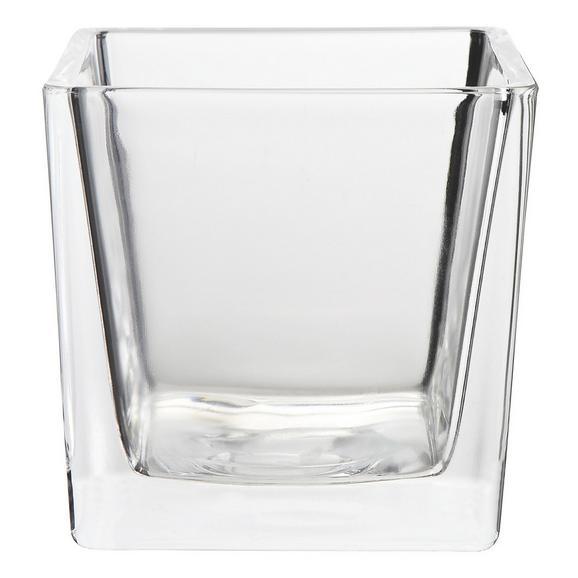 Držalo Za Čajno Svečko Nora - prozorna, Moderno, steklo (10/10/10cm) - Mömax modern living