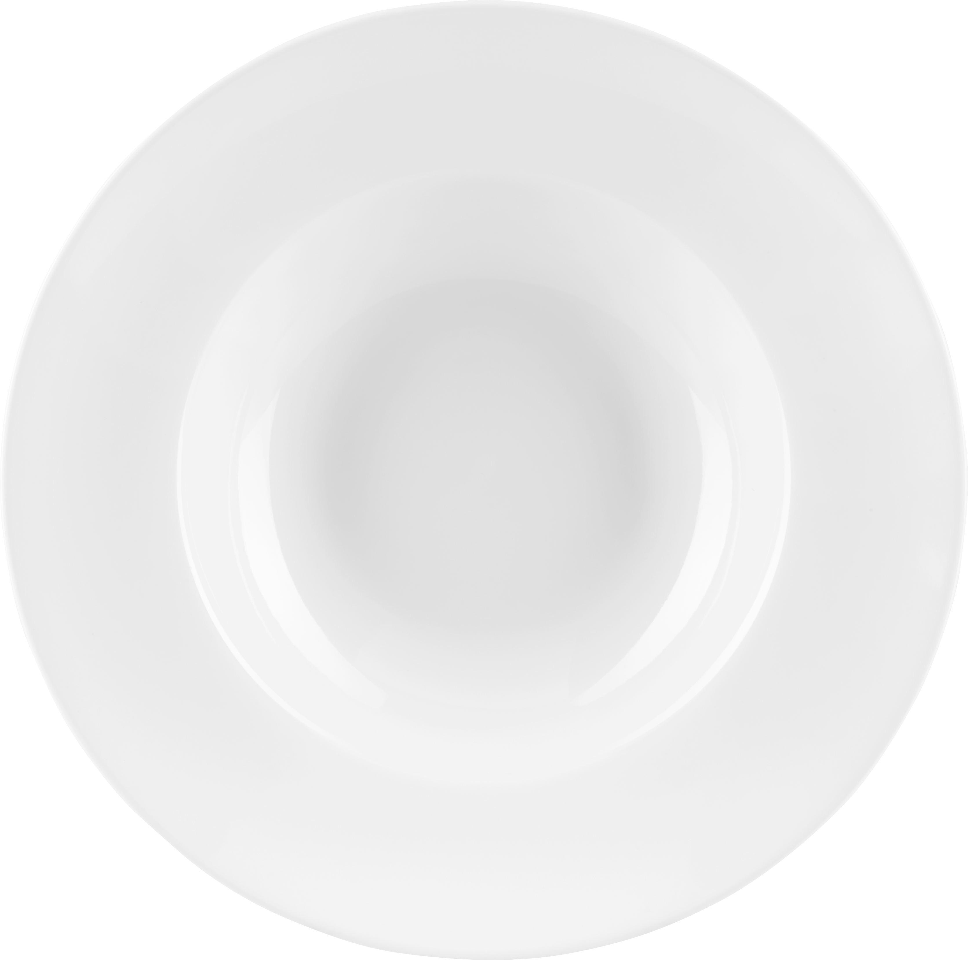 Tésztás Tányér Adria - fehér, kerámia (27cm) - MÖMAX modern living