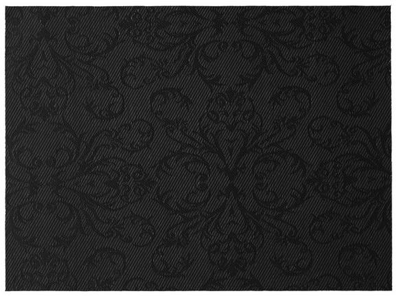 Tischset Mary Schwarz - Schwarz, Basics, Kunststoff (33/45cm) - Mömax modern living
