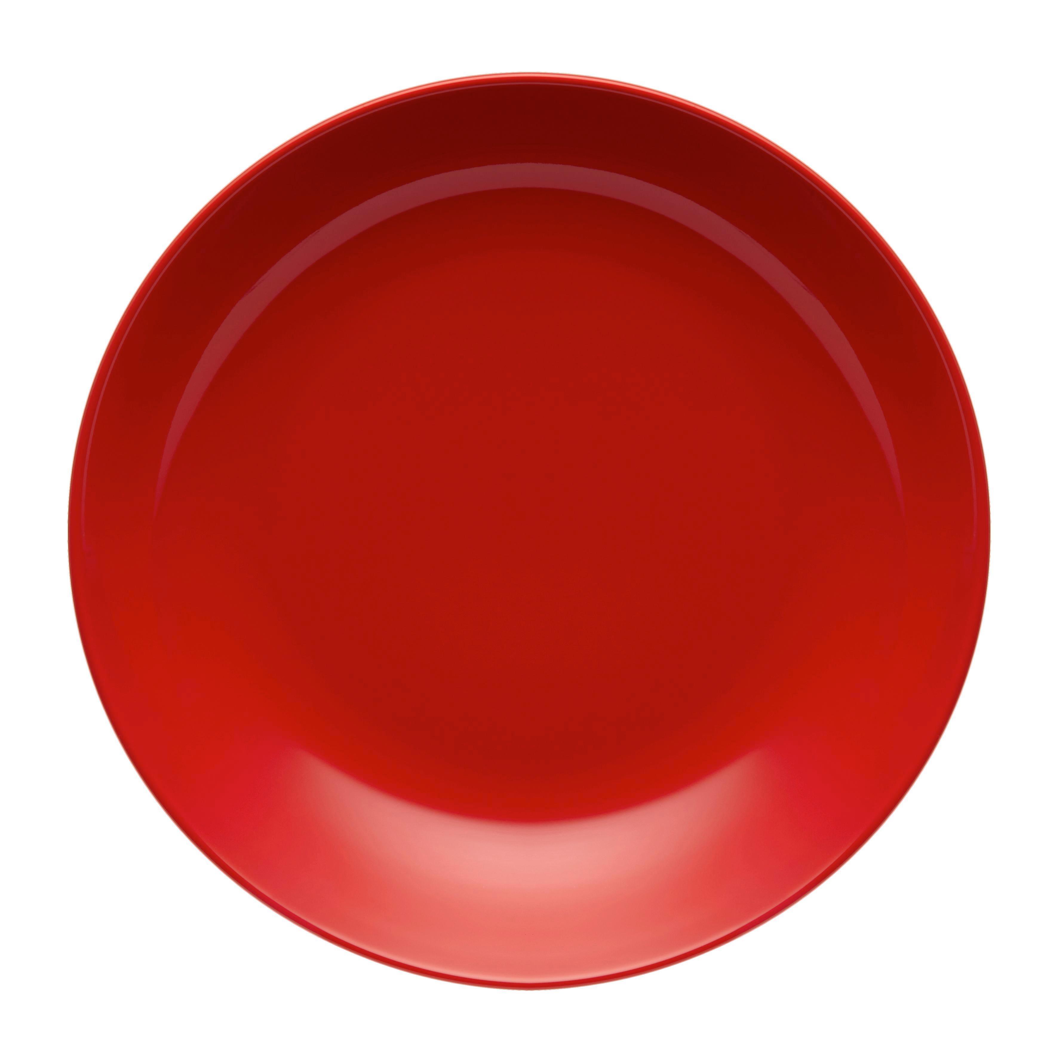 Globoki Krožnik Sandy - rdeča, Konvencionalno, keramika (20/3,5cm) - MÖMAX modern living