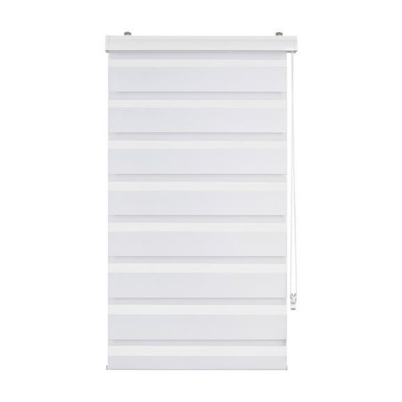 Rulou Zebră Thomas - alb, plastic/textil (60/160cm) - Premium Living