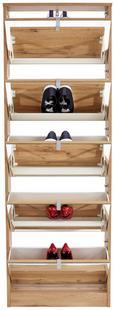 Omara Za Čevlje Sg 15-2 - hrast, Moderno, leseni material (58/170/18cm) - MÖMAX modern living