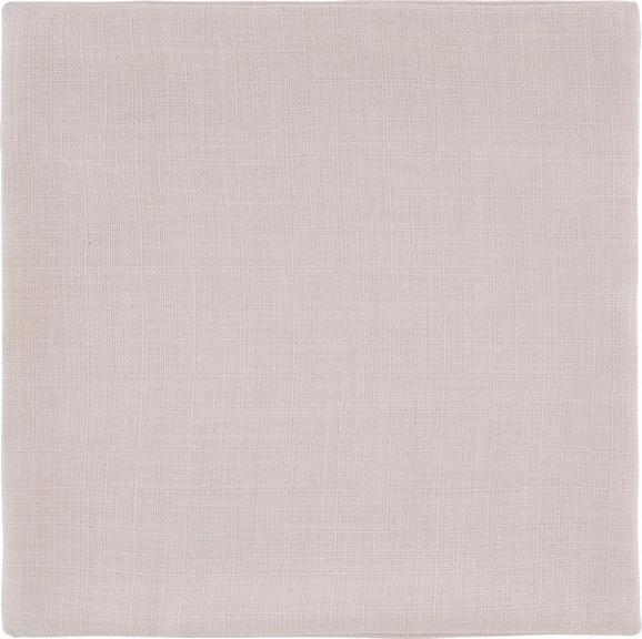 Párnahuzat Leinenoptik - homok színű, konvencionális, textil (40/40cm) - MÖMAX modern living