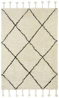 Tkana Preproga Bombay - črna/bela, tekstil (160/230cm) - Mömax modern living