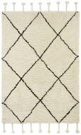Webteppich Bombay, ca. 160x230cm - Schwarz/Weiß, Textil (160/230cm) - MÖMAX modern living