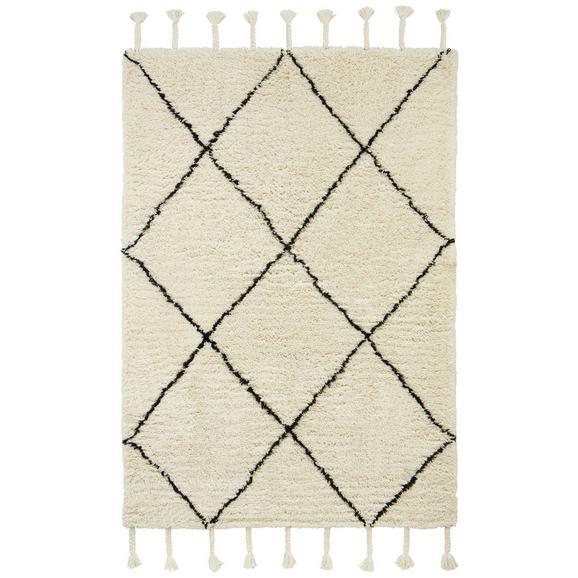 Webteppich Bombay ca. 160x230cm - Schwarz/Weiß, Textil (160/230cm) - Mömax modern living