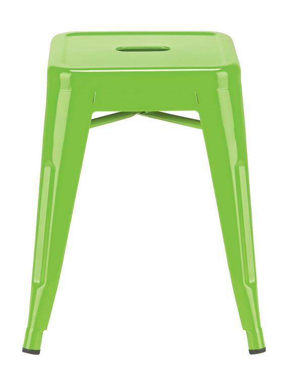 Zložljiv Stolček Manchester - zelena, kovina/umetna masa (37/45/37cm) - Mömax modern living