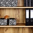Raft Pentru Documente Profi - culoare lemn stejar, Modern, compozit lemnos (75/185/35cm) - Ombra