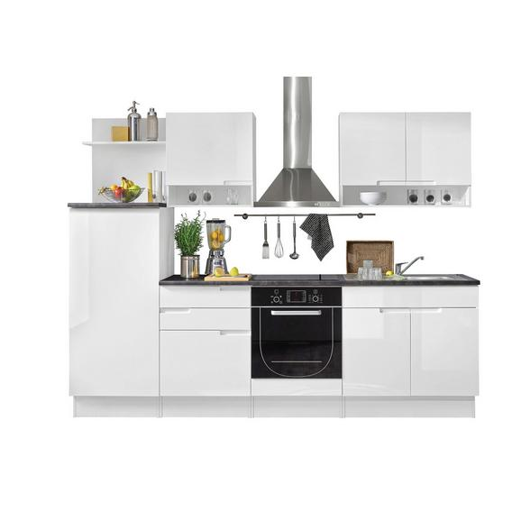 Kuhinjski Blok Welcome Spice - črna/bela, Moderno, leseni material (270/204/60cm) - Mömax modern living