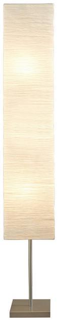 Állólámpa Antonio - Fehér/Ezüst, konvencionális, Papír/Fém (25/159/25cm) - Mömax modern living