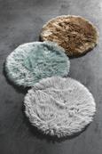 Kunstfell Teddy Taupe 80cm - Taupe, Textil (80cm) - Mömax modern living