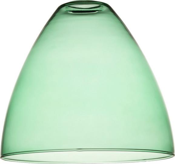Lámpaernyő Ann - Zöld, Üveg (23/21cm) - Mömax modern living