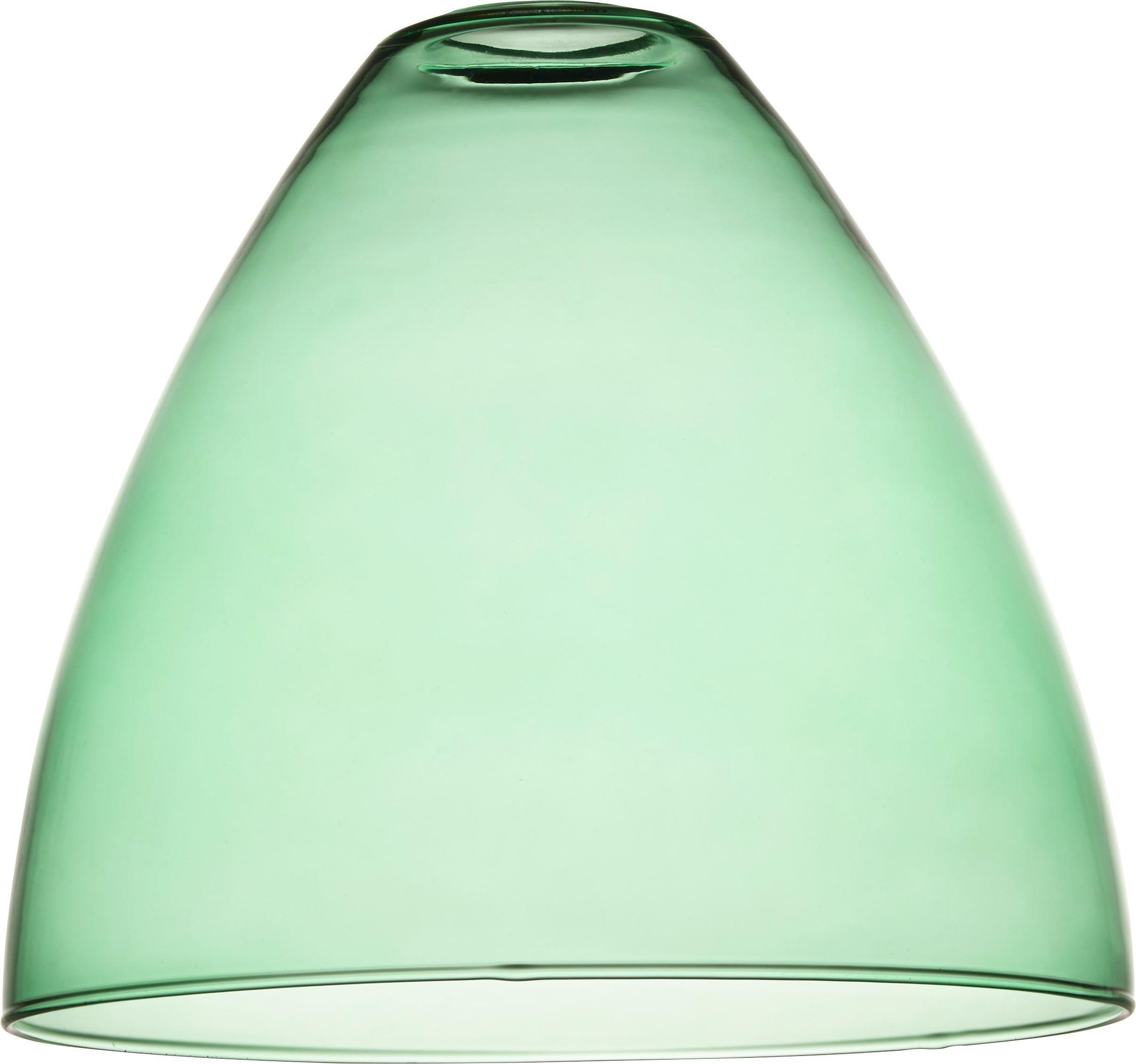 Lámpaernyő Anni - zöld, üveg (23/21cm) - MÖMAX modern living