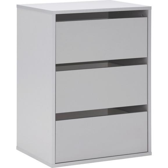 Schubkasteneinsatz in Grau - Grau, Holzwerkstoff/Kunststoff (51/70,6/39,6cm)
