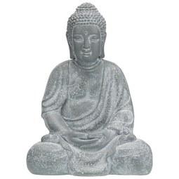 Buddha Dawn Grau - Grau, LIFESTYLE (31,5/42/24cm) - Mömax modern living