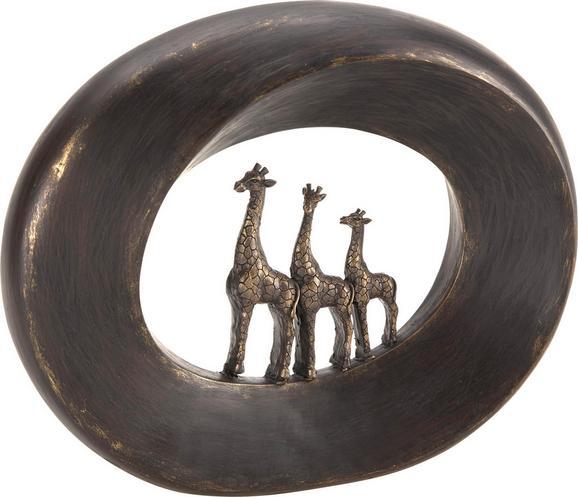 Skulptura Masai - rjava, Trendi, kamen (21/5/22cm) - Mömax modern living