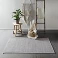 Handwebteppich Carola 1 in Grau ca.60x120cm - Grau, Basics, Textil (60/120cm) - Mömax modern living