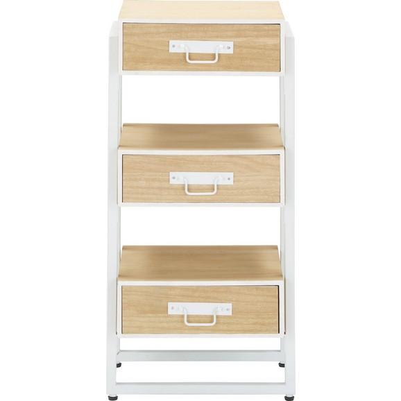 kommode in braun wei online kaufen m max. Black Bedroom Furniture Sets. Home Design Ideas