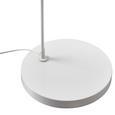 Stehleuchte max. 40 Watt 'Maddison' - Weiß, MODERN, Textil/Metall (40/187/40cm) - Bessagi Home