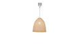 Hängeleuchte Ally, max. 40 Watt - Naturfarben, MODERN, Kunststoff/Weitere Naturmaterialien (33/153cm) - Mömax modern living