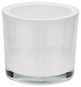 Teelichthalter Silke verschiedene Farben - Klar/Schwarz, MODERN, Glas (9/8cm) - Mömax modern living