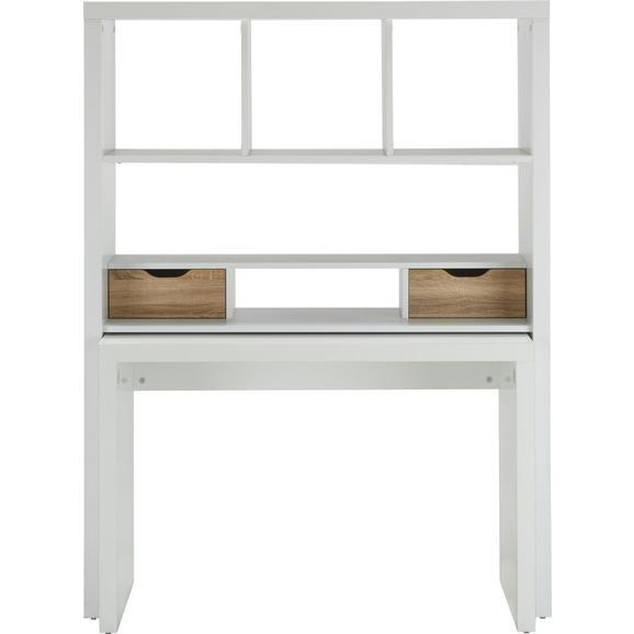 schreibtisch wei eiche online kaufen m max. Black Bedroom Furniture Sets. Home Design Ideas