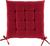 Sitzkissen Anita in Rot, ca. 40x40x4cm - Rot, Textil (40/40/4cm) - Mömax modern living
