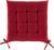 Sitzkissen Anita Rot ca. 40x40x4cm - Rot, Textil (40/40/4cm) - Mömax modern living