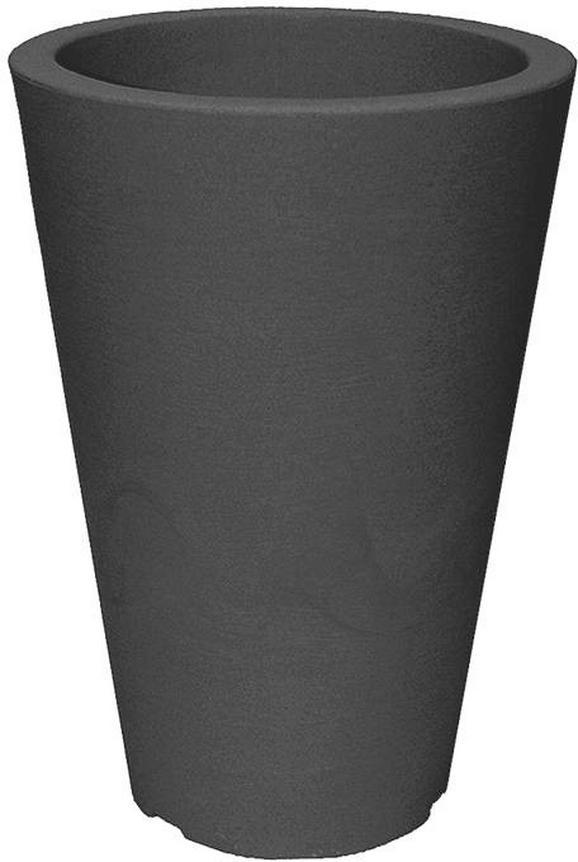 Cvetlični Lonček Capri Ii - antracit, Moderno, umetna masa (24/35cm) - Mömax modern living