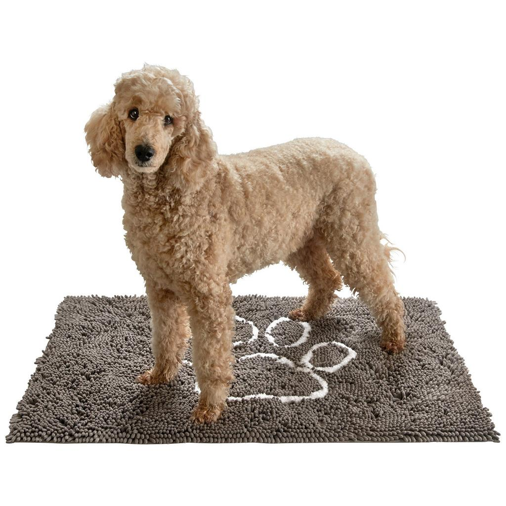 Fußmatte Doggy in Grau, ca. 70x100cm