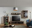 AUFBEWAHRUNGSBOXEN-SET Braun, 2er Set - Holz/Holzwerkstoff (35/29/24/23/53/45cm) - Premium Living