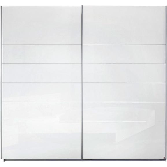 Omara Z Drsnimi Vrati Lorca - aluminij, Moderno, kovina/leseni material (225/210/62cm) - Mömax modern living