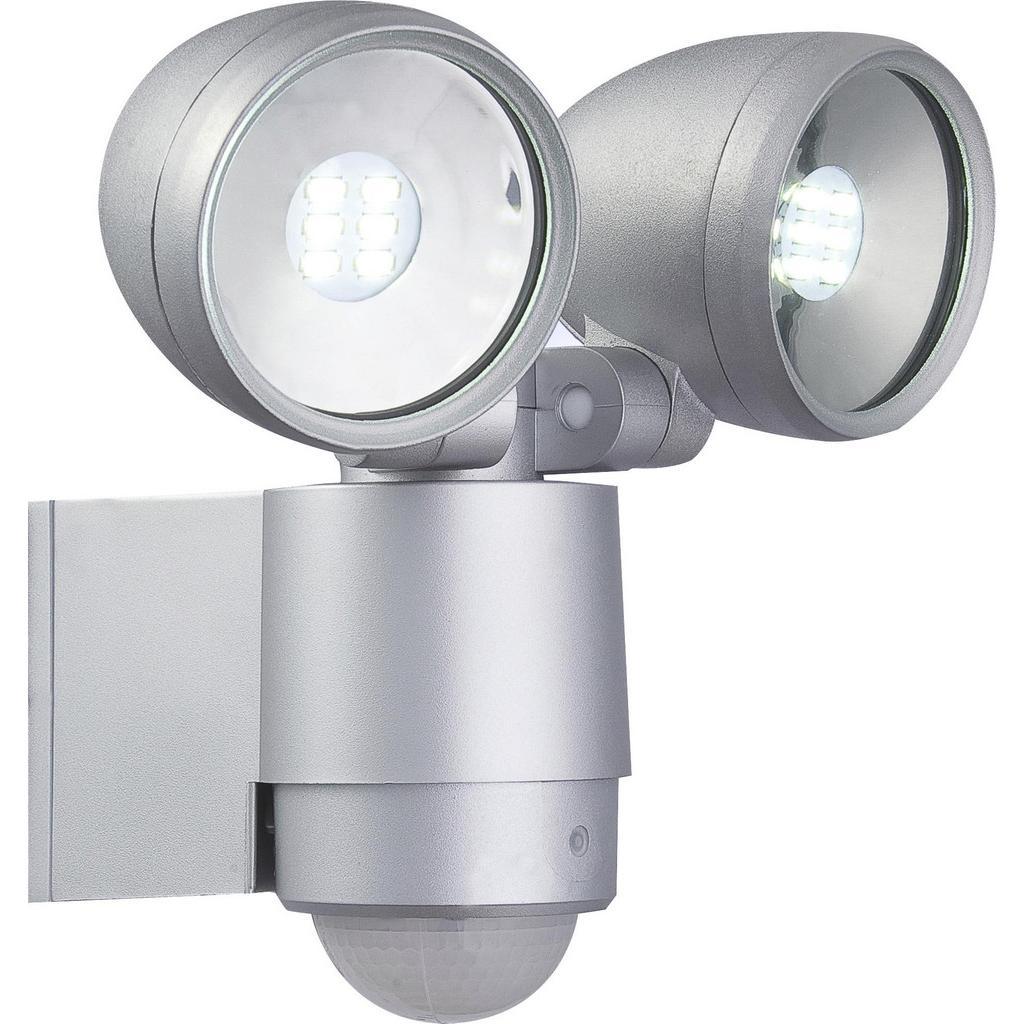 LED-Außenwandleuchte max.3Watt mit Bewegungsmelder 'Radiator'