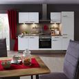 Küchenwaage Retro Rot - Rot/Weiß, Metall (20,5/20,5/25,5cm) - Mömax modern living