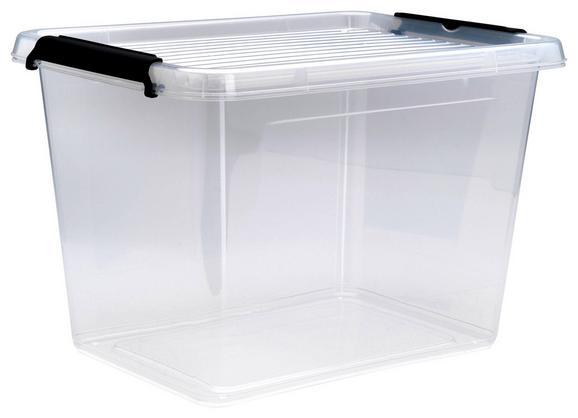 Doboz Tetővel Tina - Áttetsző, Műanyag (38,5/28,5/26cm) - Mömax modern living
