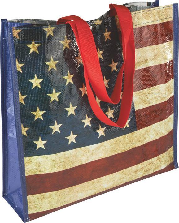 Einkaufstasche New York - Multicolor, Kunststoff (36/38/11cm) - Mömax modern living