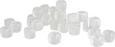 Ledene Kocke Jackie - prozorna, umetna masa (8/18cm)