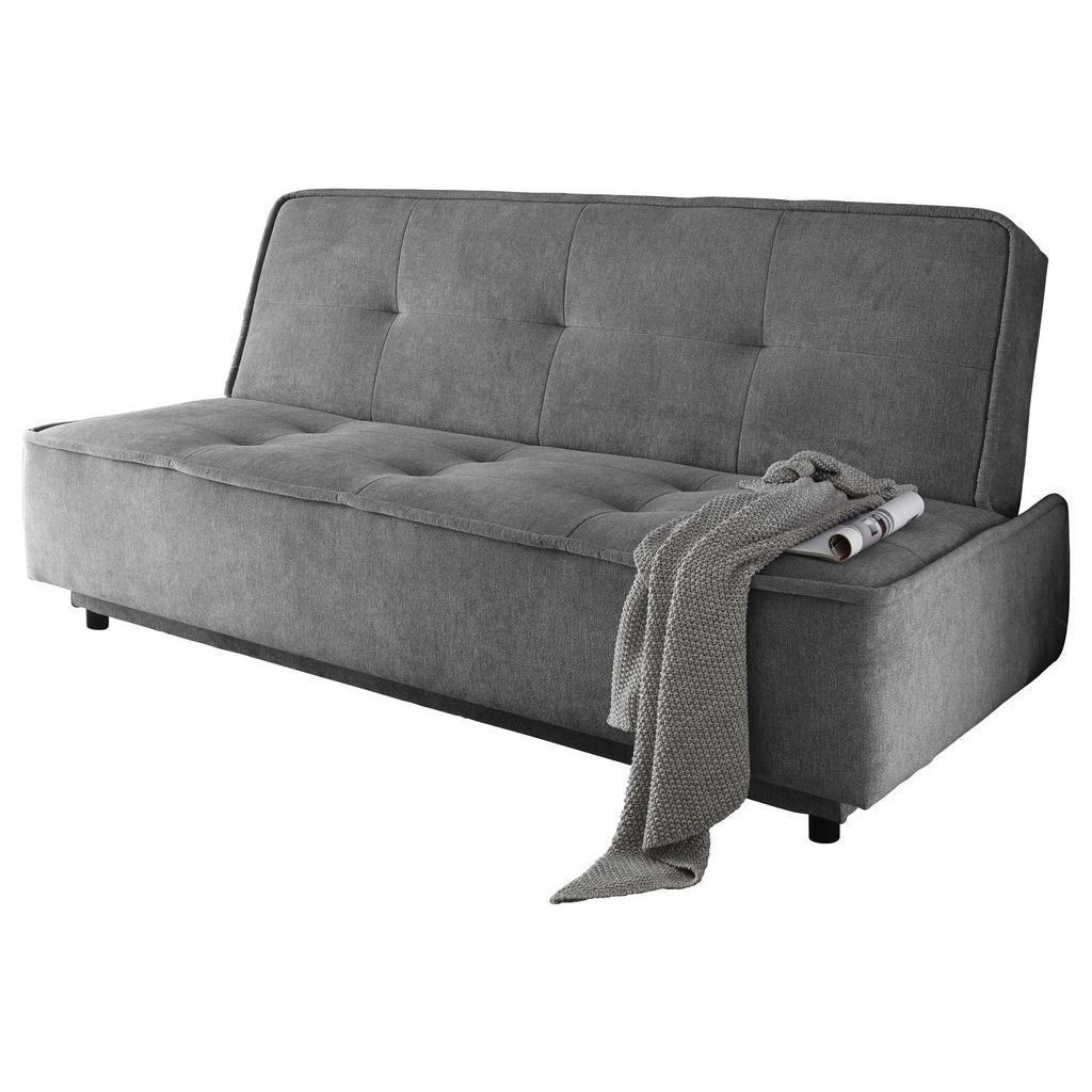 Sofa mit Schlaffunktion in Grau 'Delia'
