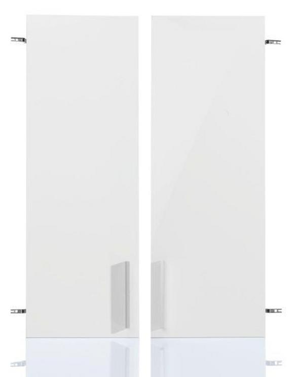 Tür Weiß/chrom aus Holzwerkstoff - MODERN (72/103/2cm) - MÖMAX modern living