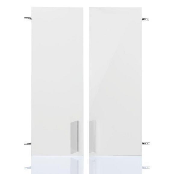 Türenset in Weiß Hochglanz - MODERN (72/103/2cm) - Mömax modern living