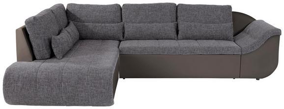 Sedežna Garnitura Carisma - odtenki umazano rjave/siva, Moderno, umetna masa/tekstil (210/300cm) - Mömax modern living