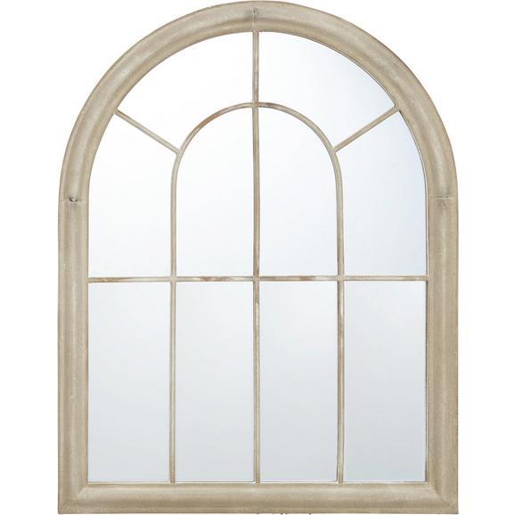 Spiegel Bianca ca. 69x88 cm - Sandfarben, KONVENTIONELL, Glas/Metall (69/88/4cm) - Bessagi Home