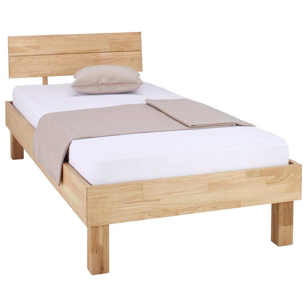 Bett aus Eiche Massiv ca. 95x80cm