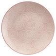 Farfurie Desert Nina - roz, ceramică (20cm) - Modern Living
